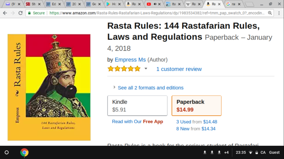 rastafari livity