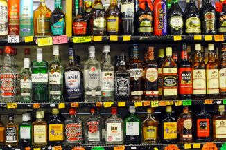 alcohol-on-shelves
